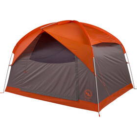 Big Agnes Dog House 6 Tent, orange/taupe/eggplant